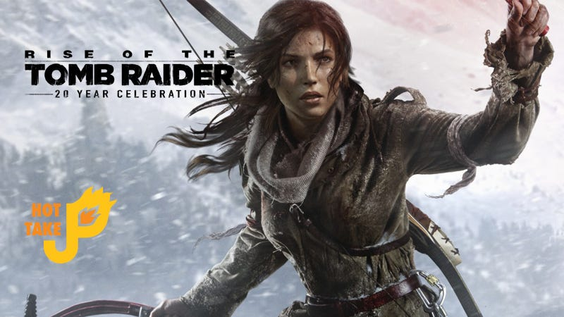 Illustration for article titled Hot Take: Rise of the Tomb Raider: 20 Year Celebration Edition (PS4)