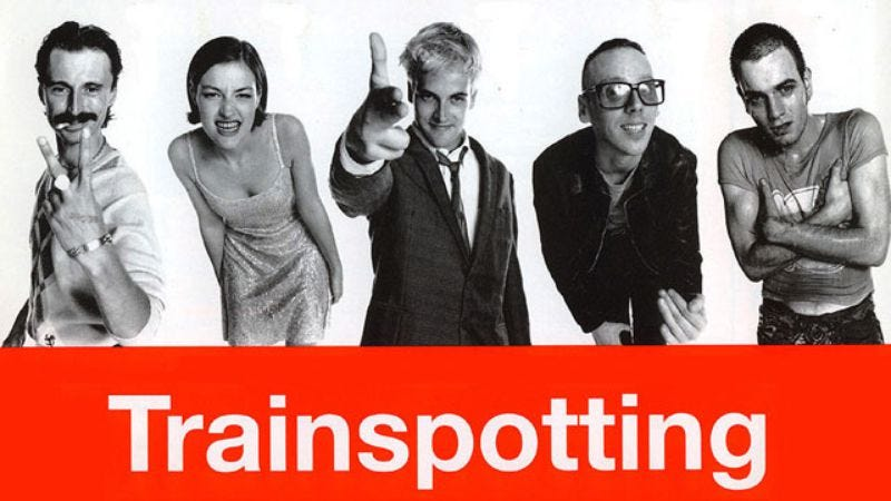 Photo: Trainspotting poster