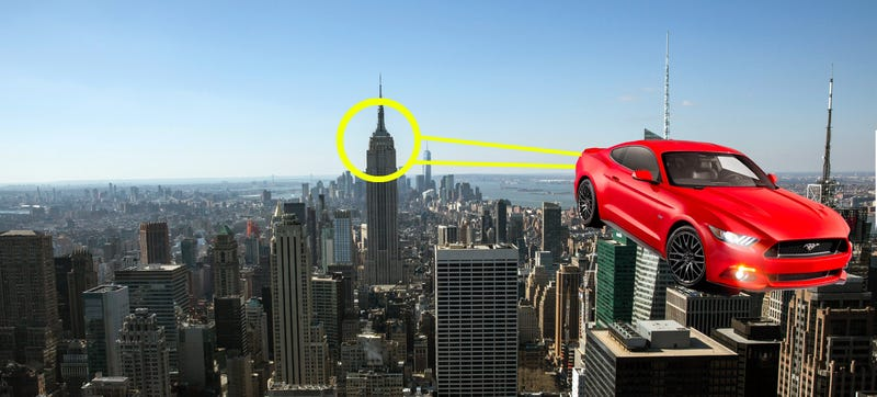 Illustration for article titled Ford Is Putting A Mustang On The Empire State Building — Again!