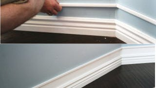 Illustration for article titled Bulk Up Your Baseboards with Wood Trim and Paint