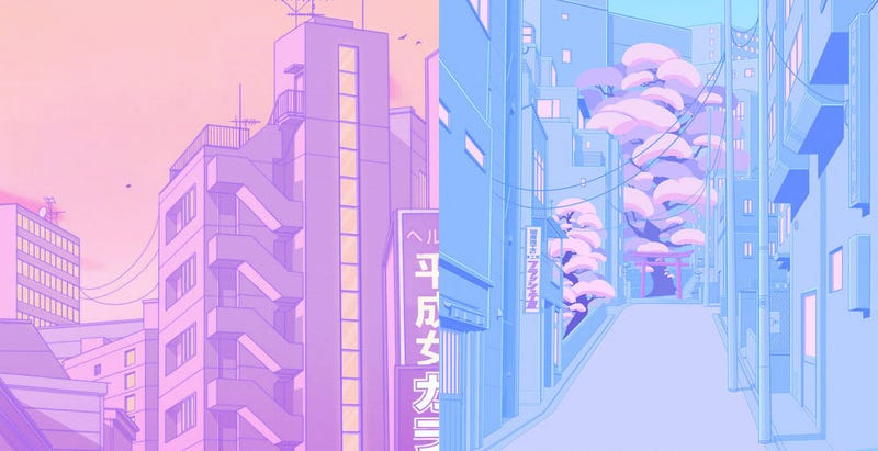 Illustration for article titled Tokyo Streetscapes