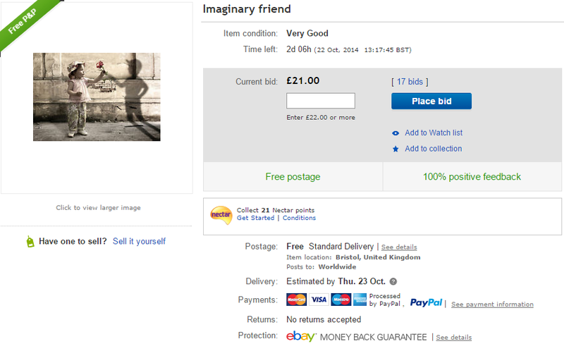 Illustration for article titled Woman Puts Imaginary Friend Up for Sale on eBay
