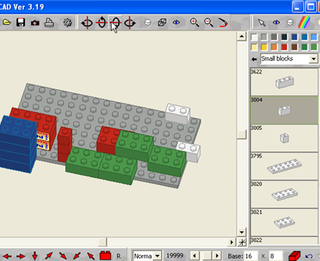 Illustration for article titled Download of the Day: Design a virtual Lego masterpiece with BlockCAD (Windows)