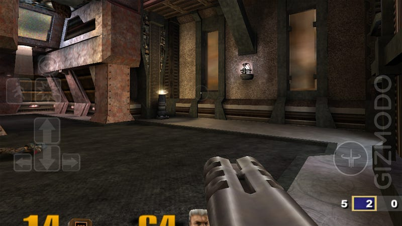 Illustration for article titled Full Quake 3 Arena for iPad, At Last and For Real