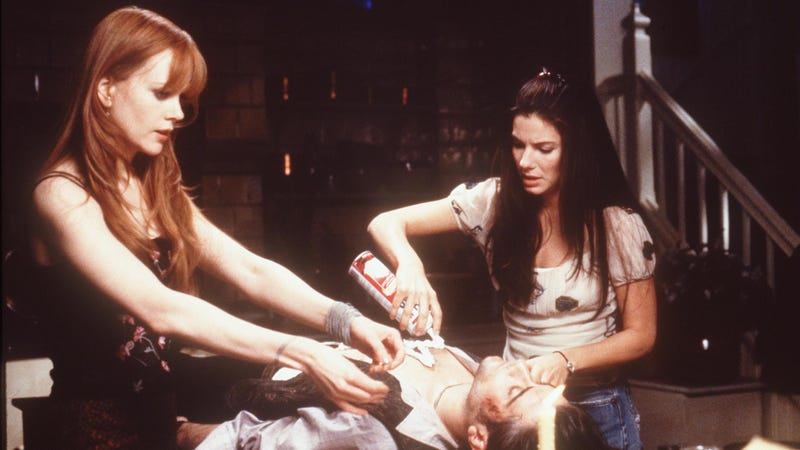 Nicole Kidman and Sandra Bullock in Practical Magic (Photo: Getty Images /Hutton Archive)