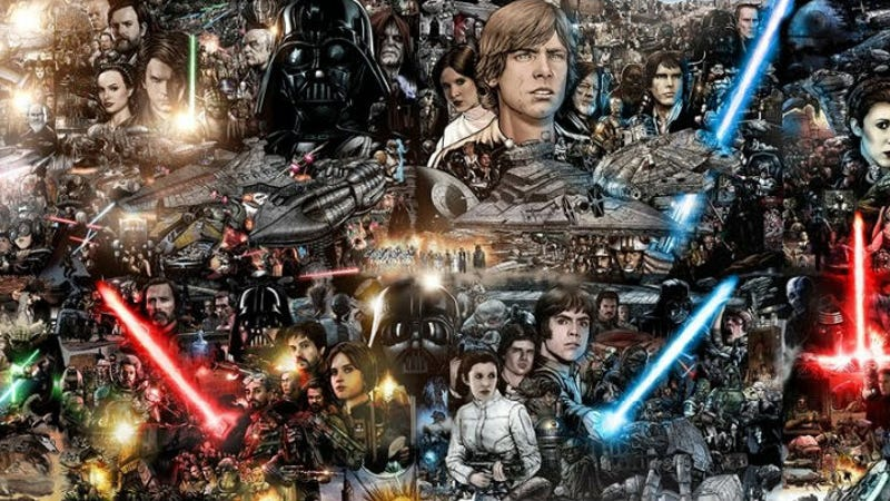 This Star Wars Mural Is Massive and Mindblowing