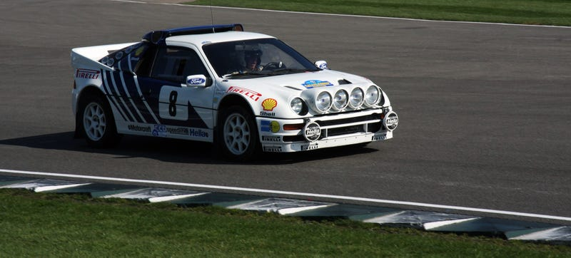 Illustration for article titled This Guy's Other Car Is A Group B Ford RS200