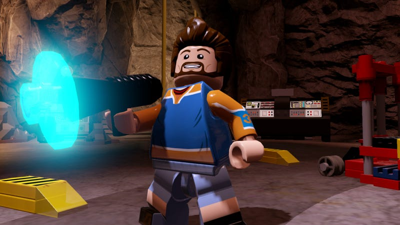 Illustration for article titled Who Is Kevin Smith Playing In LEGO Batman 3? Hint: It's Kevin Smith.