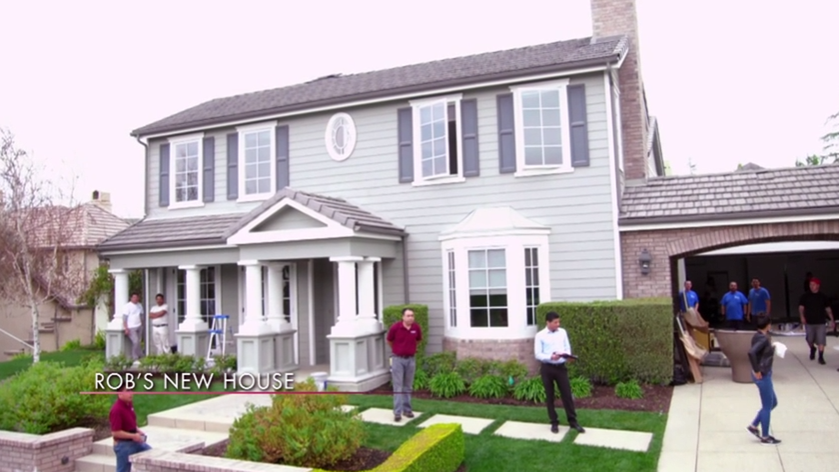 Rob Kardashianu0027s New Home Design Apparently Caused Major Beef Between  Kourtney And Faye Resnick