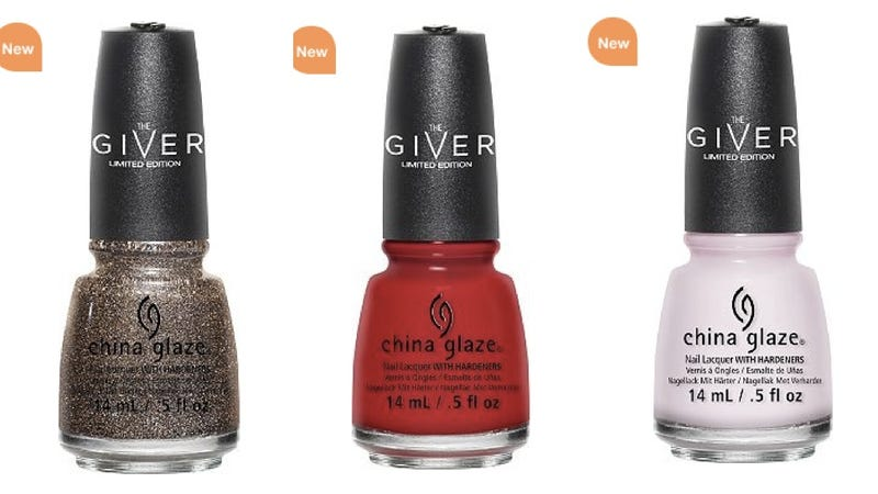 Illustration for article titled The Giver Now Has Its Very Own Line of Tie-In Nail Polish