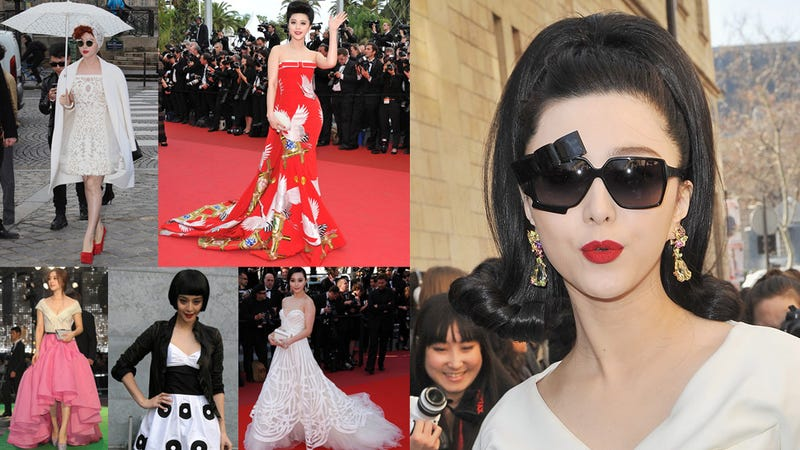 Illustration for article titled Fan Bingbing Is the Coolest Girl on Every Red Carpet