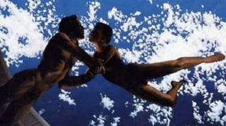 Illustration for article titled New disaster film makes zero gravity sex a reality — on Earth!