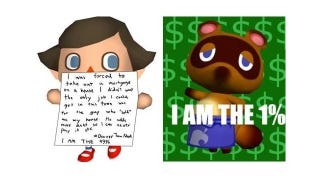 Illustration for article titled What Animal Crossing Can Teach Us About the Anger of Occupy Wall Street