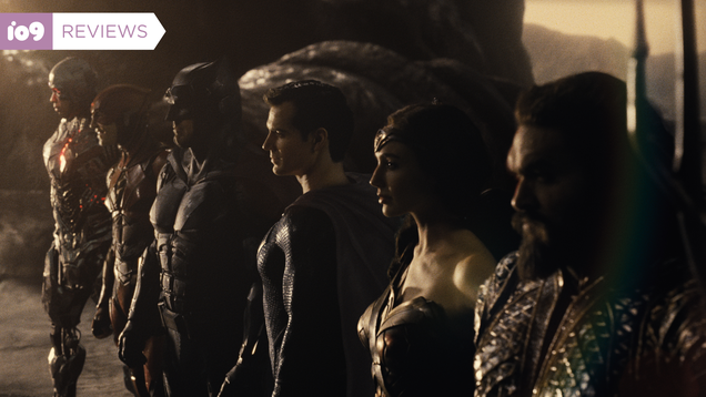 Zack Snyder s Grand Embellishments Make Justice League a Better, Stranger Thing