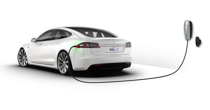 Tesla Model S charging graphic, Tesla.com