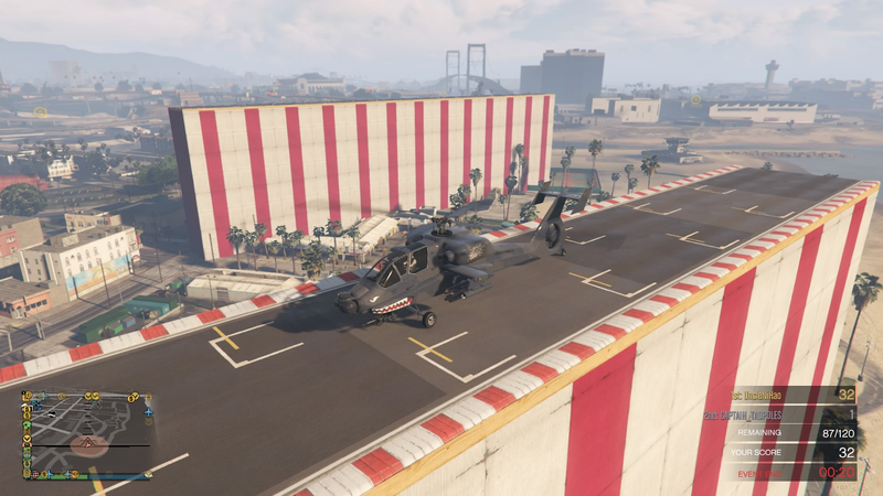 Illustration for article titled Latest GTA Online Money Glitch Has Giant Stunt Tracks Sprouting From The Ground [Update: Patched]