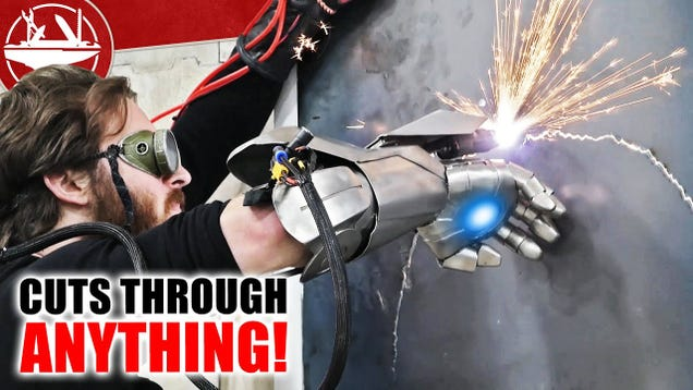 These YouTubers Made an Iron Man Glove With a Real Plasma Cutter, and It Seems Very Dangerous
