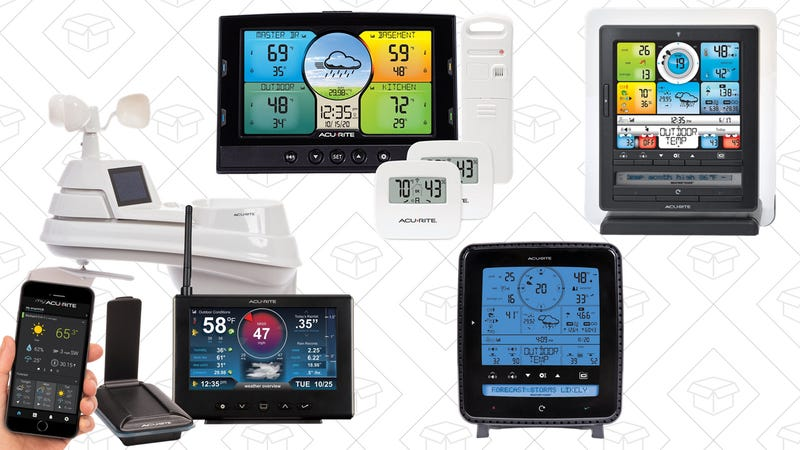 Save on AcuRite Weather Stations