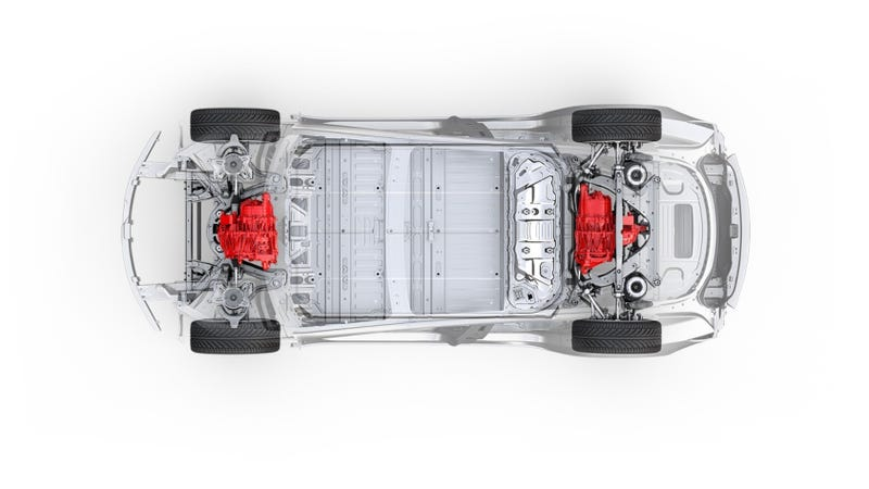 Ilration For Article Led The Tesla Model 3 Dual Motor Performance Will Do 0 60