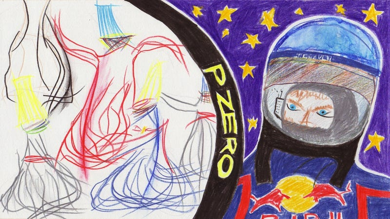 Illustration for article titled The 2011 Turkish Grand Prix in Crayola