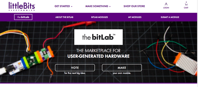 Illustration for article titled LittleBits' bitLab Is Like an App Store for Hardware