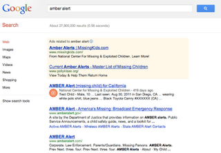 Illustration for article titled AMBER Alerts Show Up In Google Maps Now