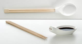 Illustration for article titled Spoon Chopsticks...And We Thought Creativity Was Dead