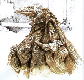 Illustration for article titled Designing the Dark Crystal