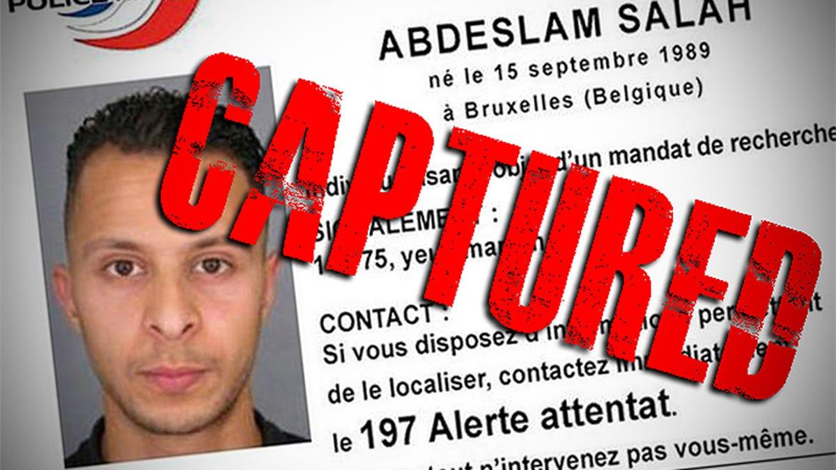 Suspected paris terror attacks mastermind has been captured updated