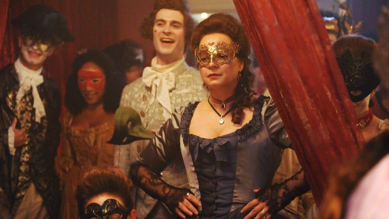 Rosalind Eleazar, Ben Lambert, and Samantha Morton star in Harlots
