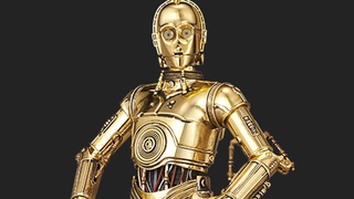 Illustration for article titled Bandai's Latest Star Wars Model Kit Is A Gloriously Shiny C-3PO