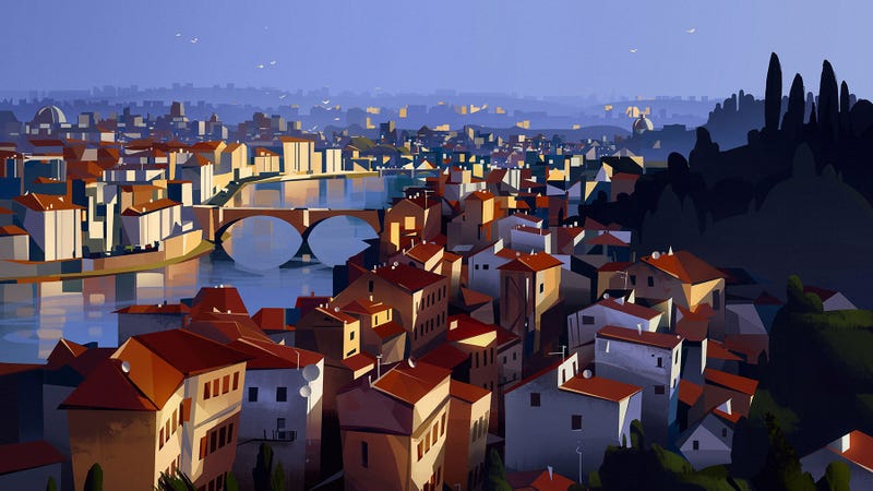 Illustration for article titled An Old City In A New Light