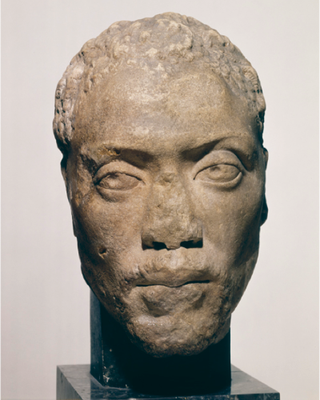 Greek; Thyreatis (Peloponnesus), second century, marble. H: 27.3 cm. Berlin, Staatliche Museen, Antikensammlung, SK 1503.