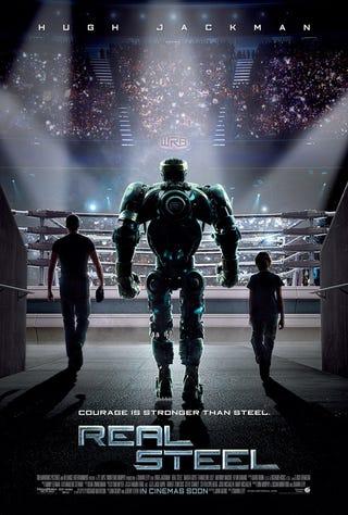 Illustration for article titled Real Steel International Poster