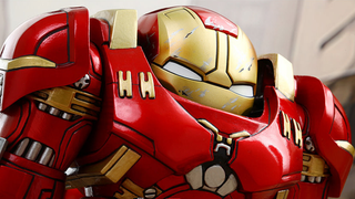 Illustration for article titled The Most Adorable Hulkbuster Toy Houses An Equally Adorable Iron Man