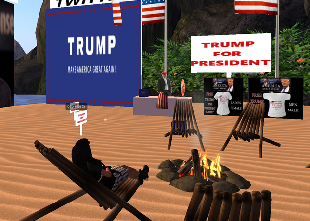 Illustration for article titled Donald Trump's Unofficial Second Life Headquarters Empty Day After Nomination