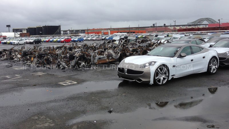 Progressive Car Insurance Reviews >> Fisker Lost $30 Million Worth Of Cars In Hurricane Sandy