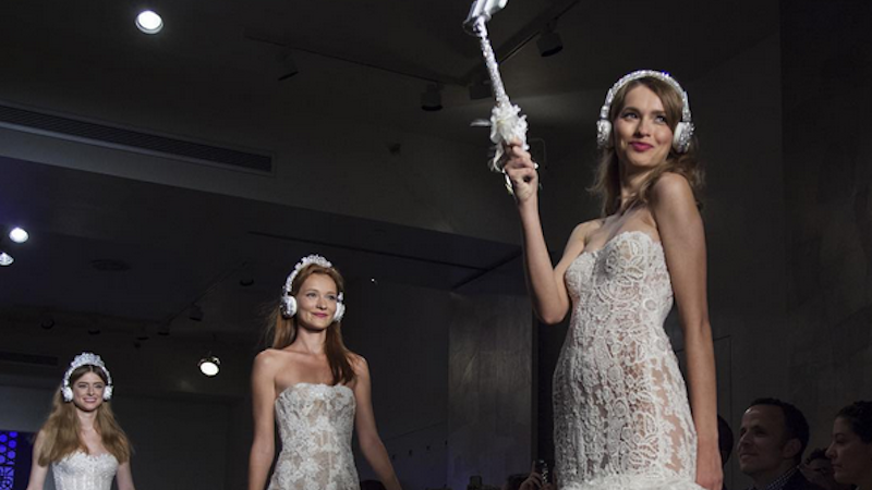 Illustration for article titled Nothing Says 'I Love Me' More Than a Bedazzled Selfie Stick at Your Wedding