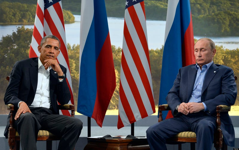 Illustration for article titled Well, Looks Like Barack and Vladimir Have Something in Common After All