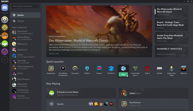 Discord's New Games Tab Is A Lot Like Steam