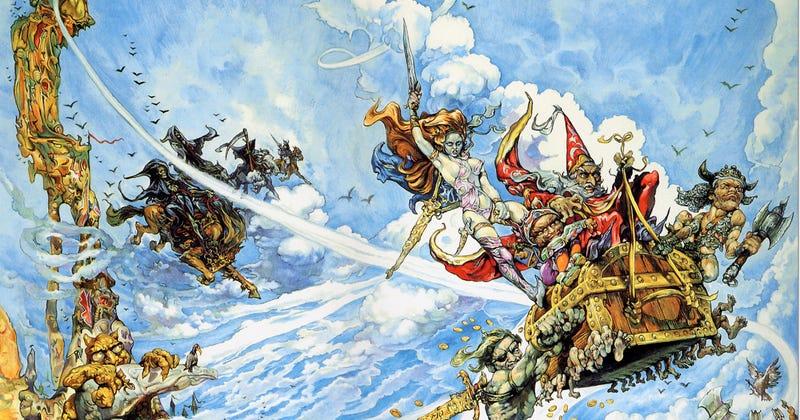 Illustration for article titled Si no has leído a Pratchett, estas son sus mejores novelas para empezar
