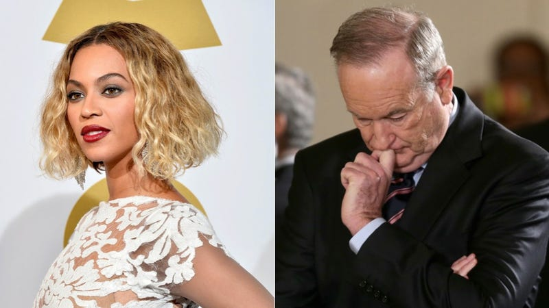 Illustration for article titled Bill O'Reilly Thinks Beyoncé Is Bad for Teenage Girls