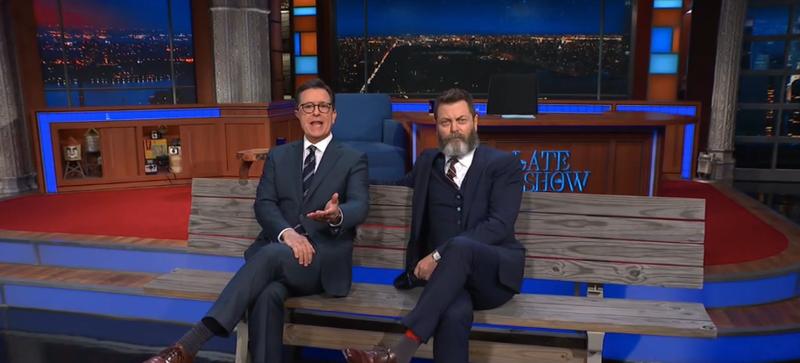 Stephen Colbert, Nick Offerman