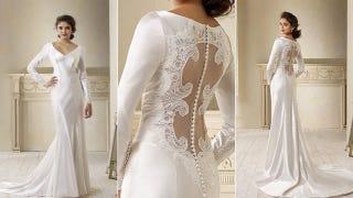 Getting A Licensed Replica Of The Carolina Herrera Wedding Dress Kristen Stewart Wore To Marry Her Sparkly Fanged 110 Year Old Boyfriend In New