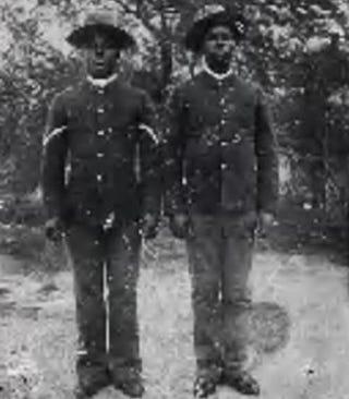 Fay July and William Shields (Seminole-Negro scouts via Fold3)