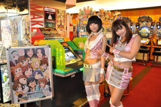 Illustration for article titled The Idolmaster Comes to Life in a Namco Game Center