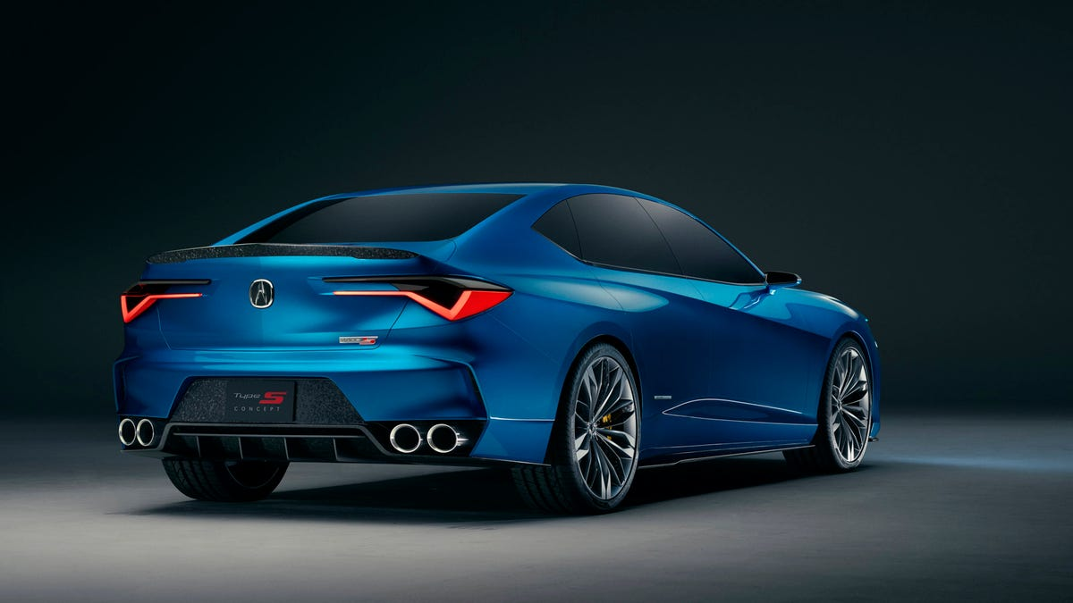 The New Acura Type S Concept Is Starting To Look Like The