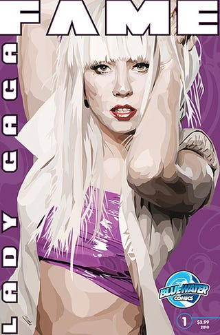Illustration for article titled Good Idea, Gruesome Execution: The Lady Gaga Comic Book
