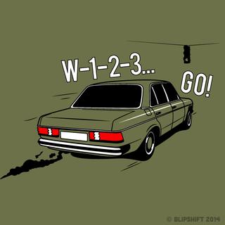 Illustration for article titled New Blipshift Shirt - W-1-2-3 Go!