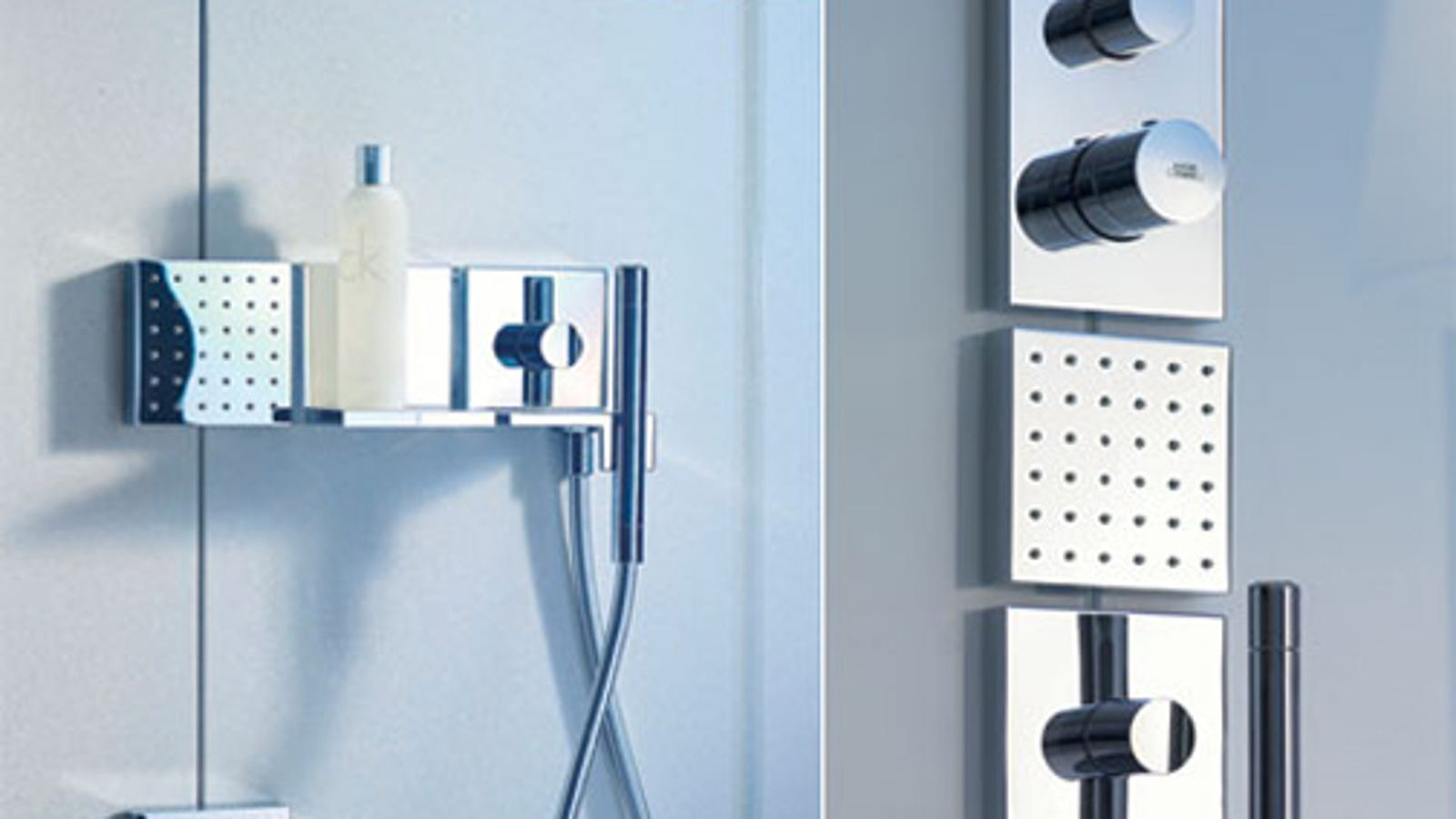 Modular Shower Lets You Arrange Your Bath Gadgets Like Building Blocks
